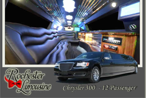 Chrysler 300 12 Passengers