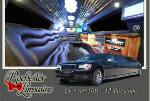 Chrysler 300 12 Passengers