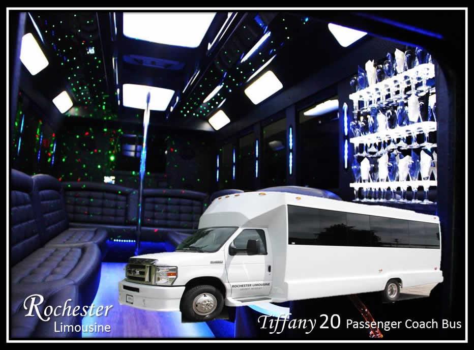 Metro Detroit Party Bus Rental Rochester Limousine Llc