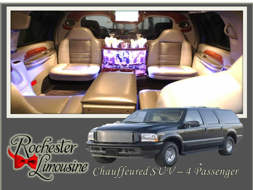 Rochester-limos-Chauffeured-SUV