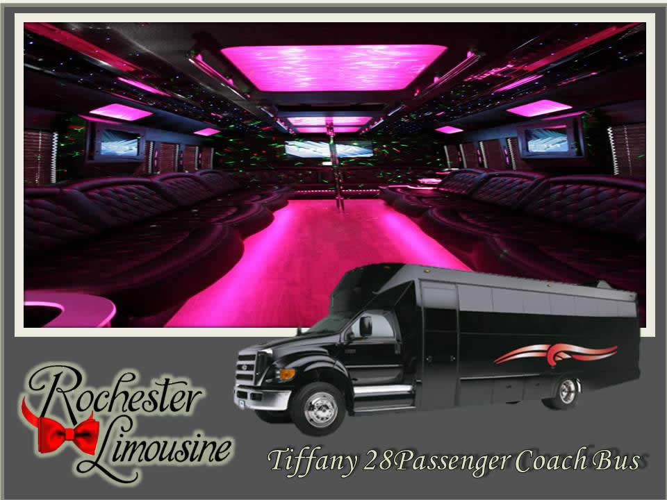 Rochester-limos-Tiffany-28-passenger-party-bus