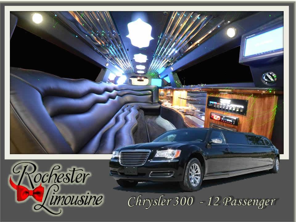 Rochester-limos-chrysler-300-12-passengers