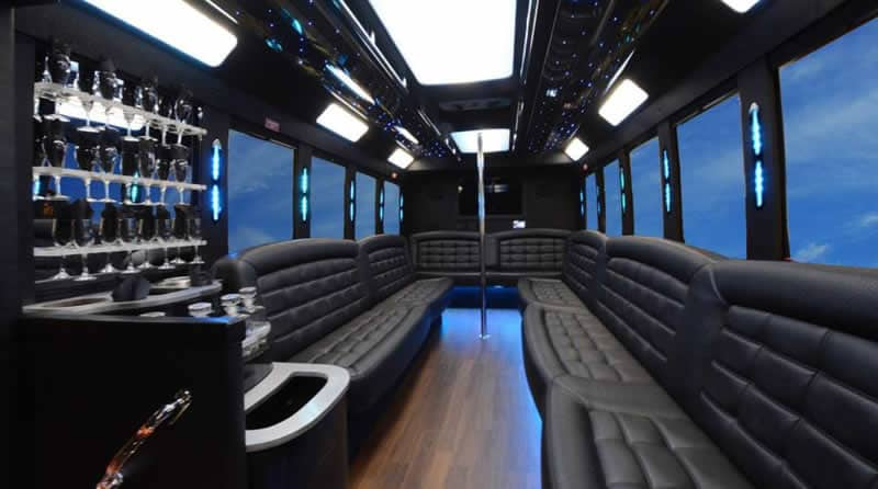 West Bloomfield Party Bus Rental for Your Wedding Party