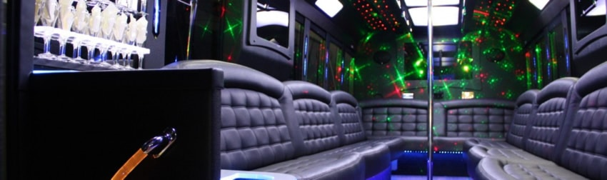 Wedding Party Bus in Southfield